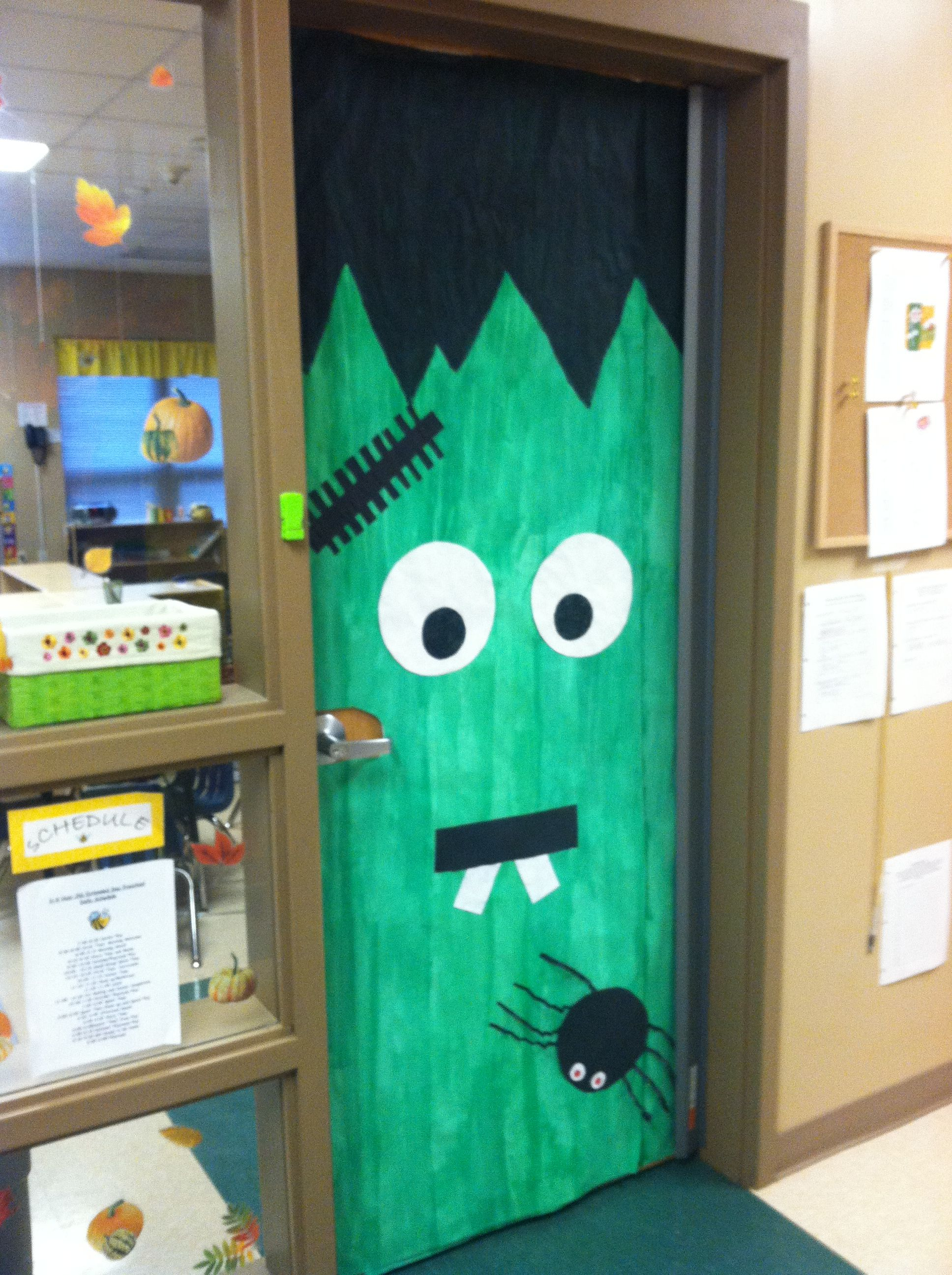 Happy Halloween Classroom Door Fall Preschool School Ideas