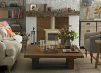 Woodland theme country living room | Rustic/Modern/Neutral ...