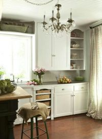 French Country Cottage shabby chic beautiful kitchen ...