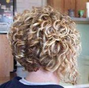 concave bob curly - google