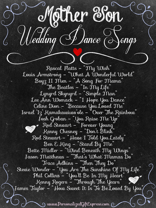 Top 20 MotherSon Dance Wedding Songs  Mother son dance Mother son and Sons