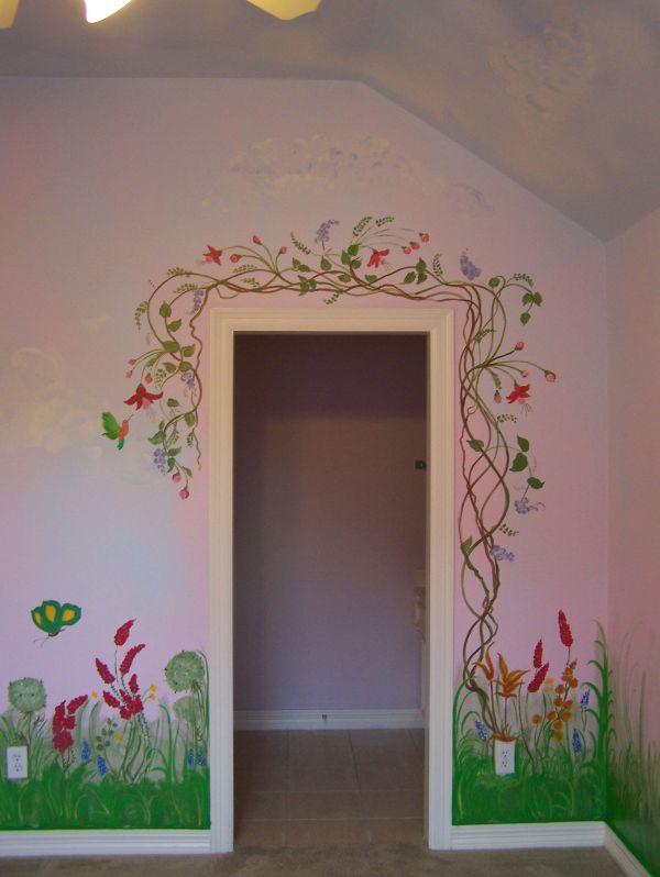 Garden Mural Door Frame 'style Design