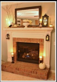 DIY Home Decor Ideas | Small lamps, Mantle and Lights