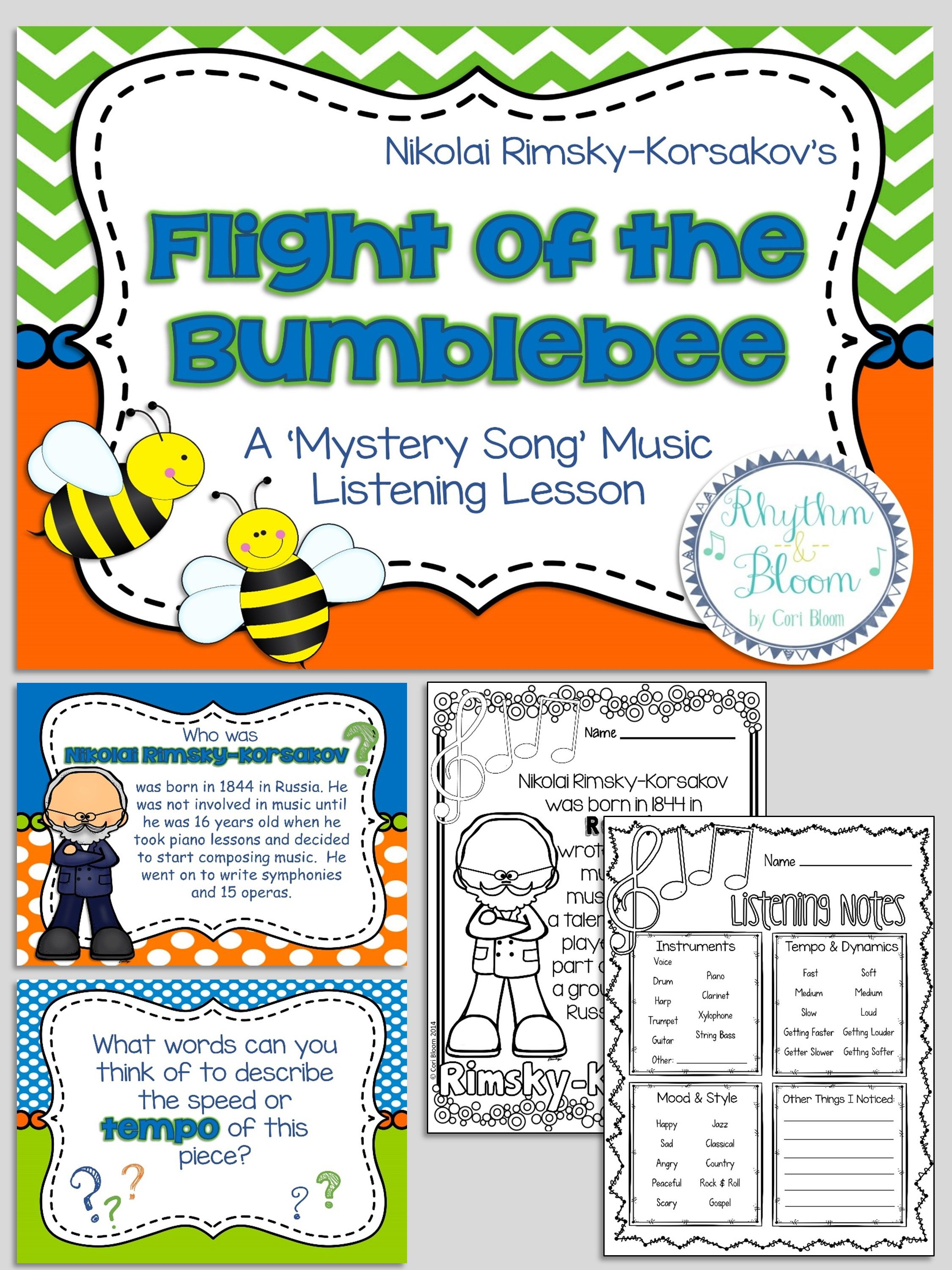 Mystery Song Music Listening Flight Of The Bumblebee