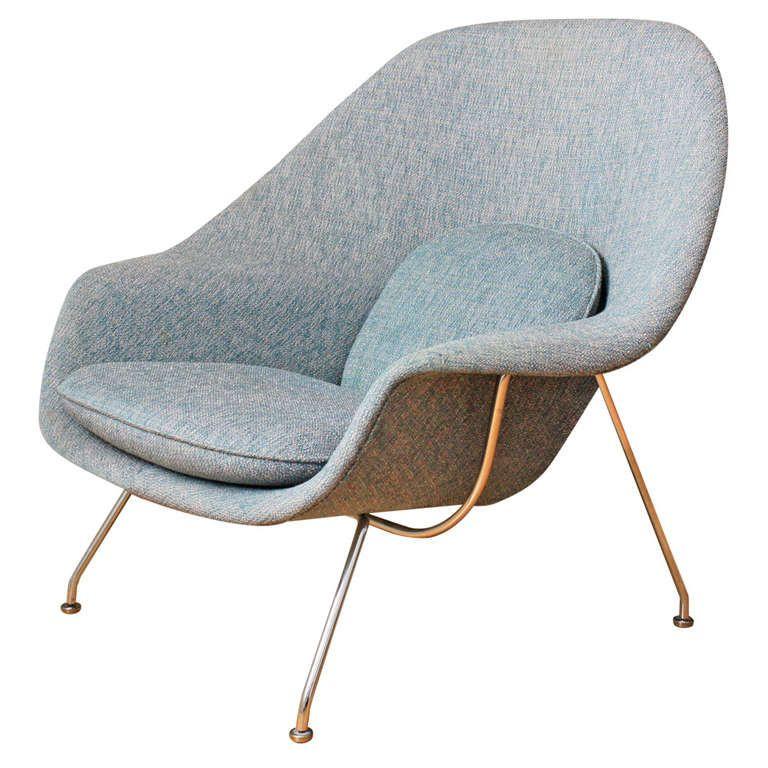 Vintage Knoll Womb Chair by Eero Saarinen