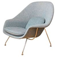 Vintage Knoll Womb Chair by Eero Saarinen