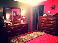My girly bedroom ! Marilyn , leopard print & hot pink ...