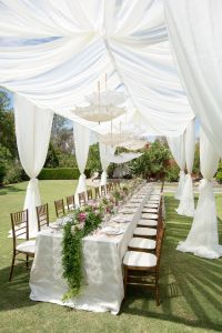 Romantic, Vintage-Inspired Outdoor Bridal Shower with ...