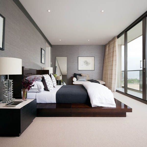 modern bed design bedroom Luxury Condo on Pinterest | Luxury Apartments, Condo Floor