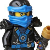 Lego Ninjago Jay Minifigure w/ Weapon from 70737 Titan ...