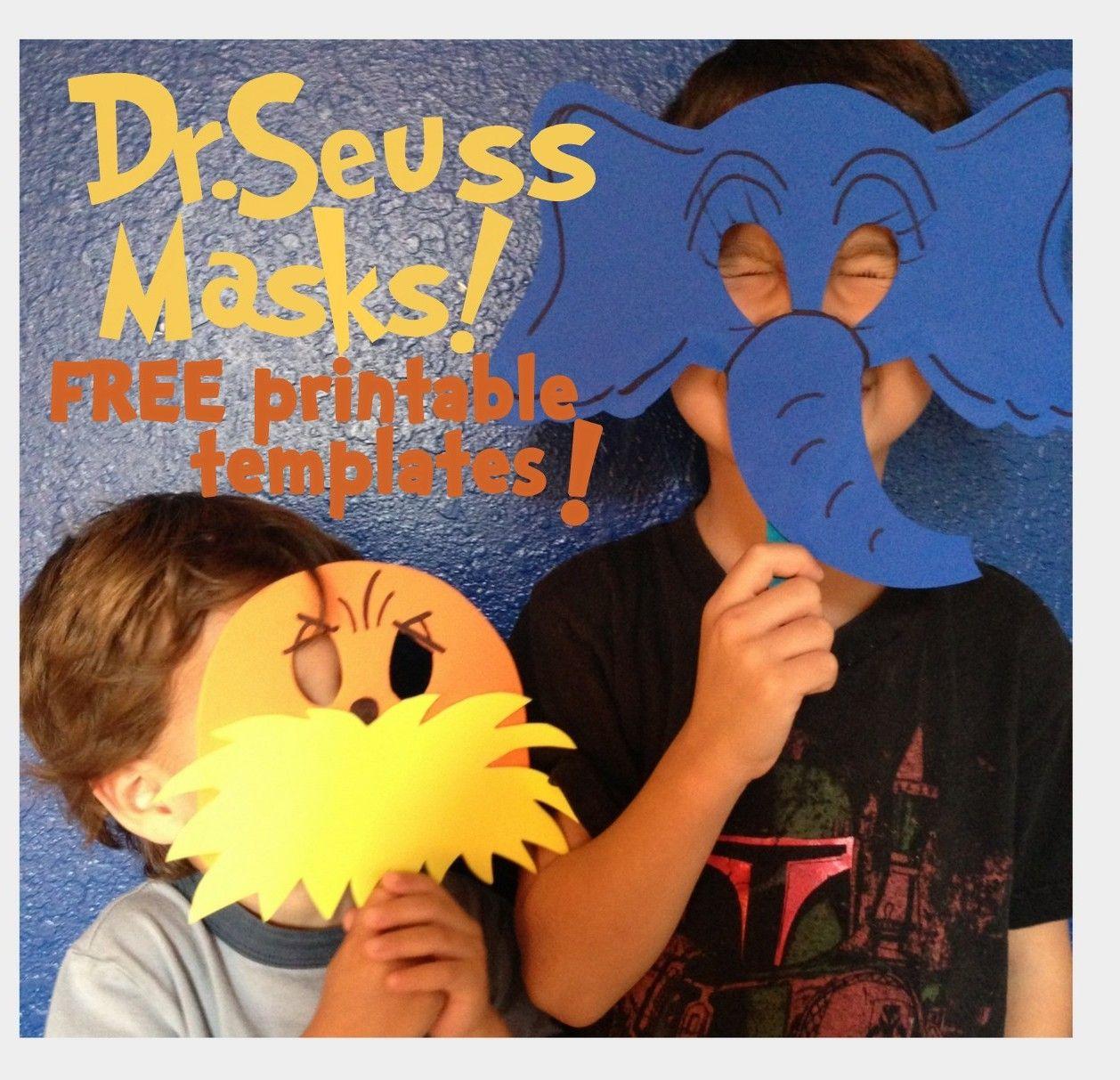 Free Dr Suess Printables