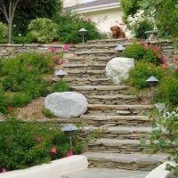 landscaping steep steps | Hill Landscaping | Steps ...