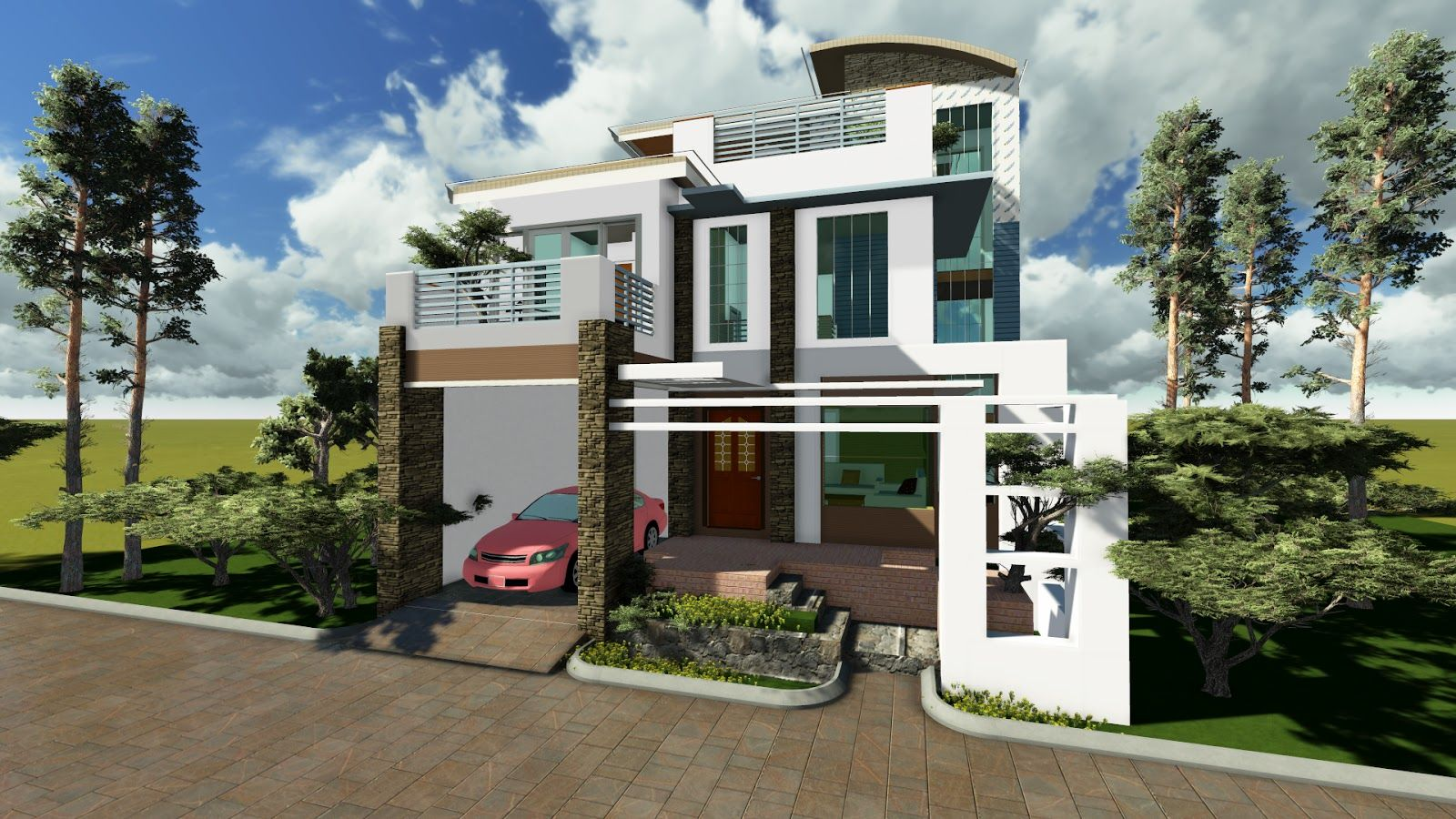Modern Philippines House Design Google Search Houses