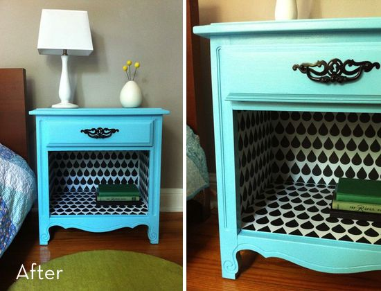 Best 25 Bedside table makeover ideas on Pinterest