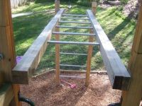Monkey Bars from Galvanized Pipe | For the Kids ...