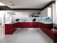 Contemporary Kitchen Lacquered High Gloss Airone Torchetti