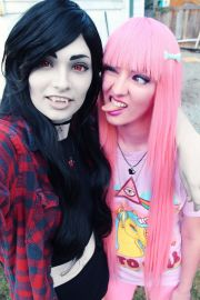 awesome marceline and bubblegum