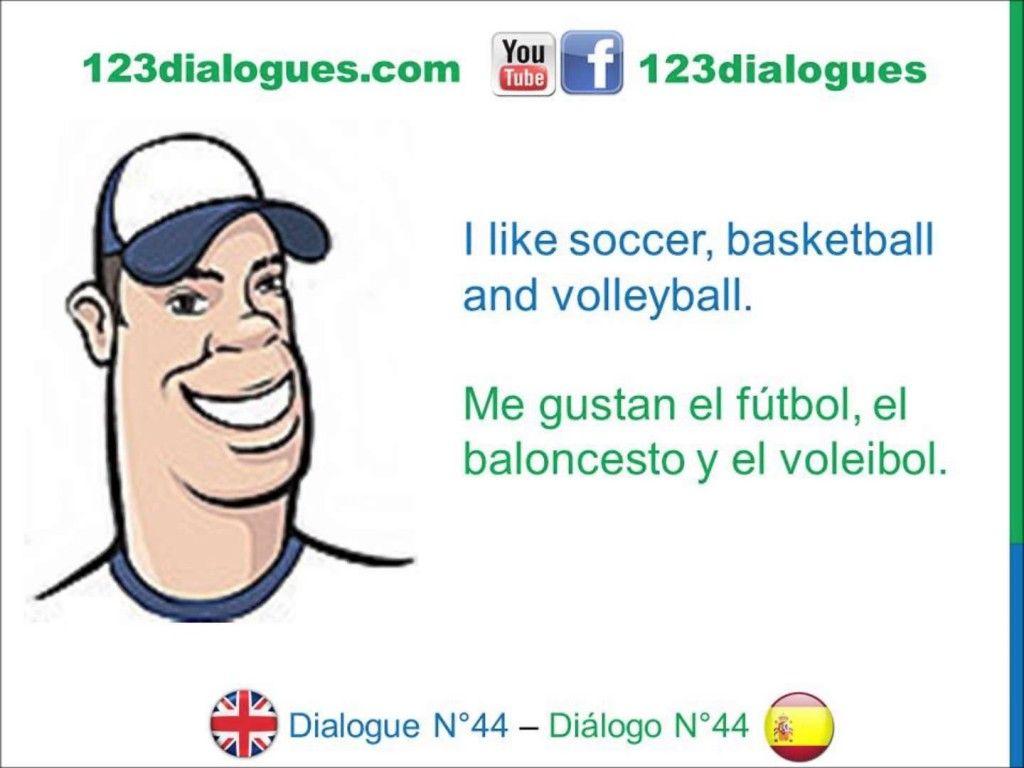 Dialogue 44 Dialogo 44 English Spanish Ingles Espanol