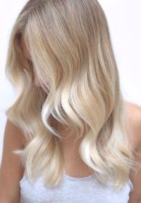 sand stone hair color for me please loving soft waves ...