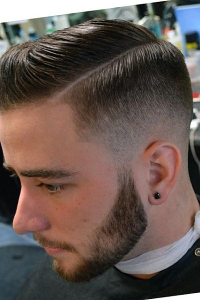 Side Part Fade Hairstyles Men Man Hairs Pinterest Hairstyles