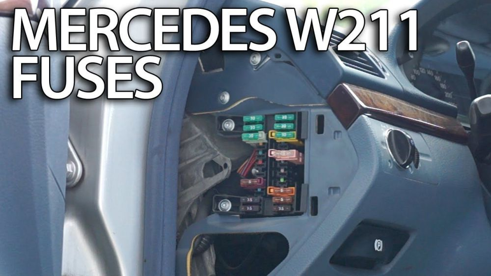 medium resolution of where are fuses and relays in mercedes benz w211