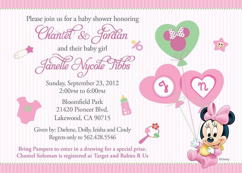Xmas Baby Shower Invitations