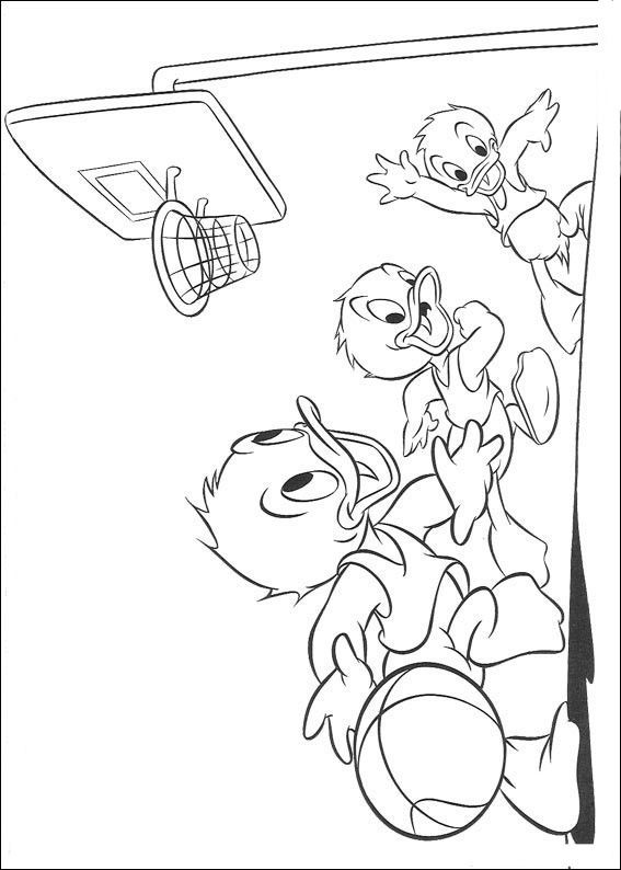 Donald Duck Kids Coloring Pages and Free Colouring