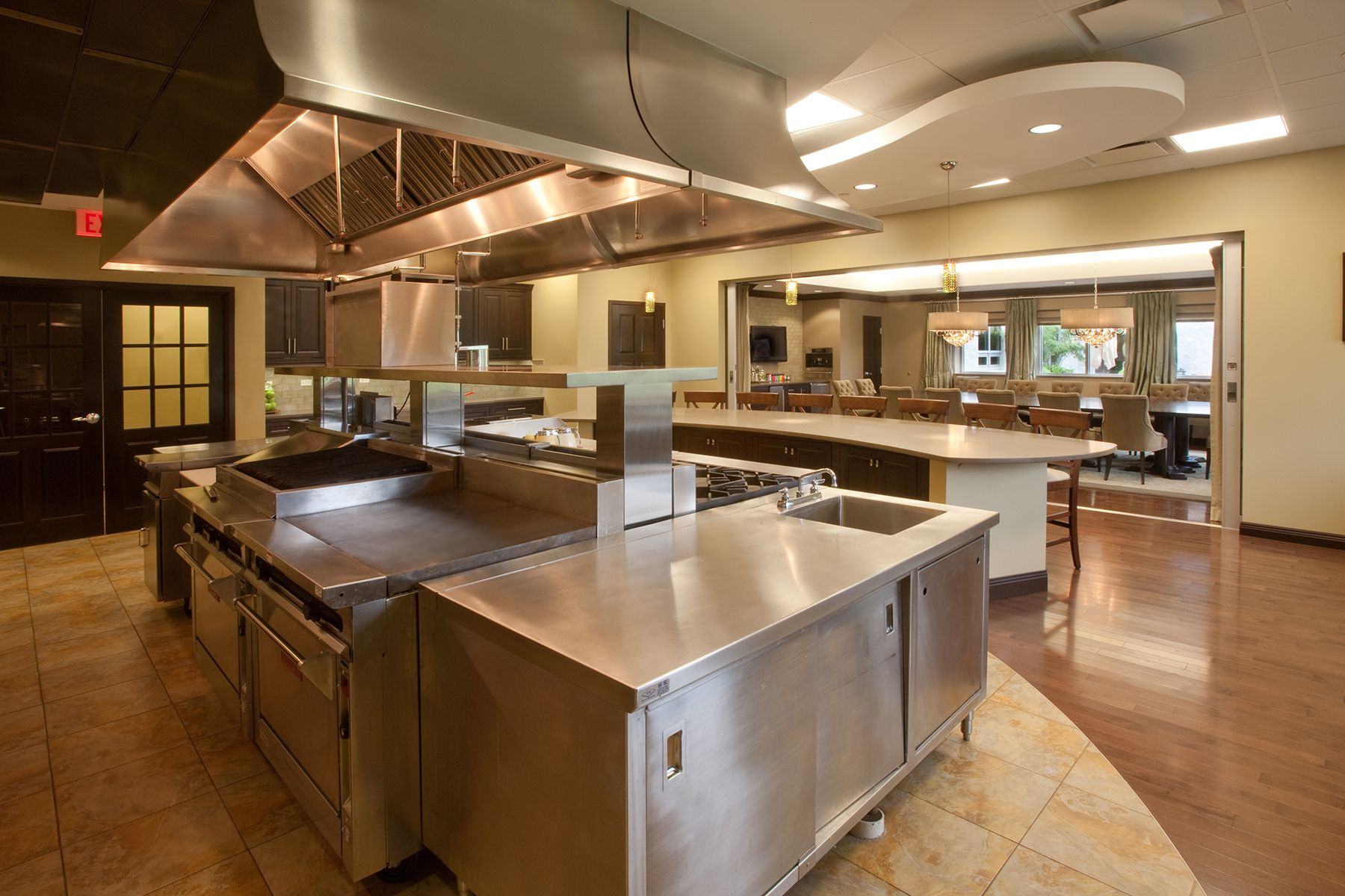 Commercial Home Kitchen Design