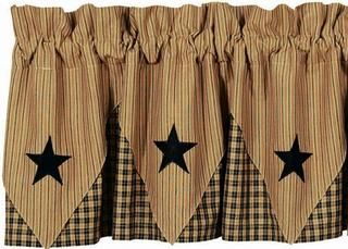 Pattern For Country Stars Ihf Midnight Curtains And Kitchen