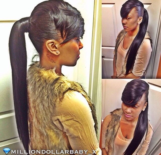 Image Result For Black Woman Ponytails Hairstyles 2016 Styles