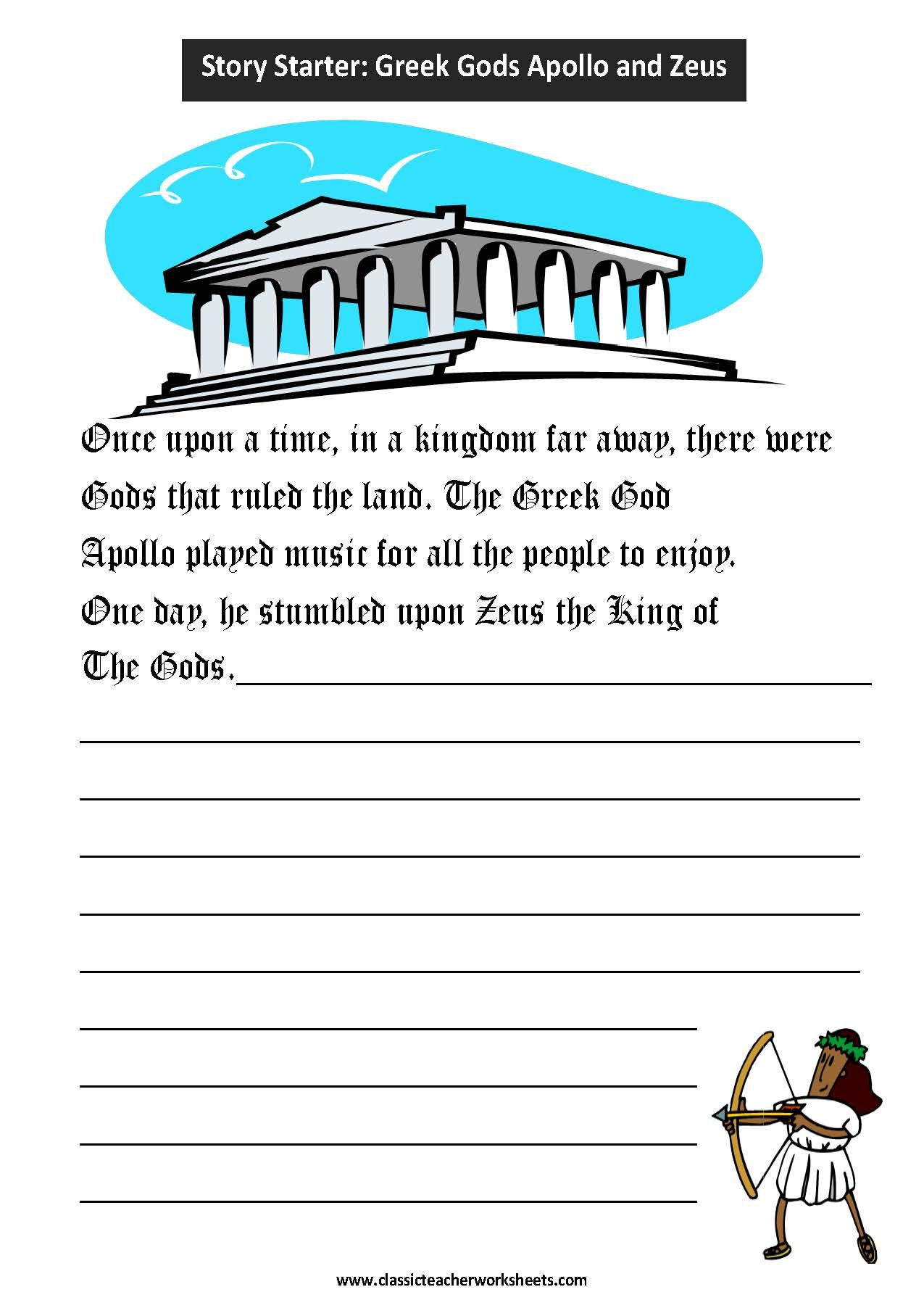 Worksheet Greek Mythology Worksheets Grass Fedjp