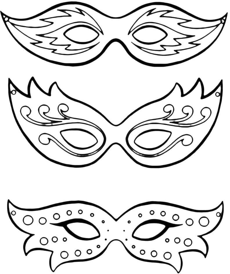 Maschere 8 Vappu Pinterest Fasching Masken basteln