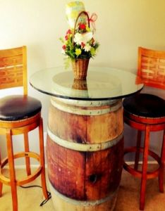 Top creative ways to reuse wine barrels also and rh pinterest