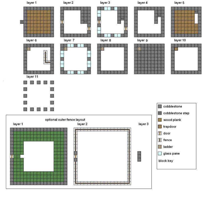 Minecraft House Ideas Blueprints 13 Wallpaper Download Minecraft