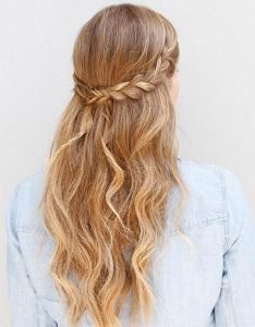 Homecoming hairstyles from pinterest wear these to the big dance stylecaster also abby winters abbywinters en rh ar