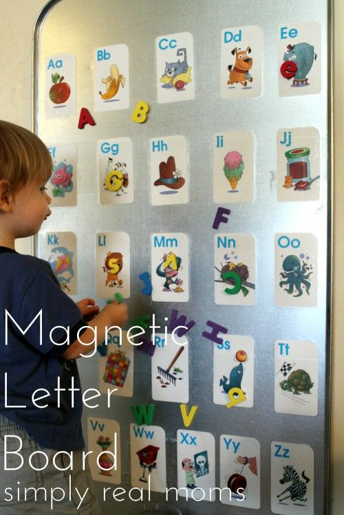 Make the alphabet fun for your toddler with this magnetic