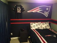 New England patriots bedroom for Nate! | Hockey rink ...