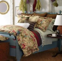 Ralph Lauren COASTAL GARDEN 11P King Comforter Set ...