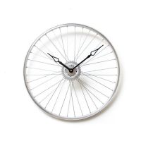 Bicycle Wheel Clock - Bicycle Clock - Unique Wall Clock ...