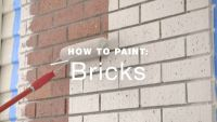 How to paint exterior brick walls?