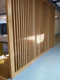 Separar espacios con madera | s e p a r a r  e s p a c i ...