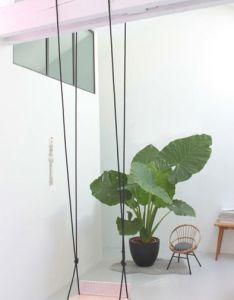 La balancoire indoor swing also for mila   room blush pinterest rh
