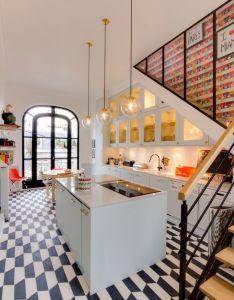 Fun and colourful eclectic paris apartment gravity home also kitchen decor pinterest interior shop interiors room rh za