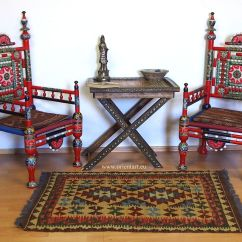 Stool Chair Price In Pakistan Family Dollar Lawn Chairs A Pair Of Traditional Punjabi Tribal From