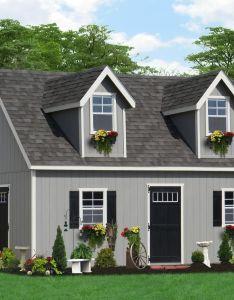 House also two story shed for  home tiny building tips pinterest rh