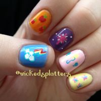 Friendship is Magic - My Little Pony Nails | Fandom Nails ...