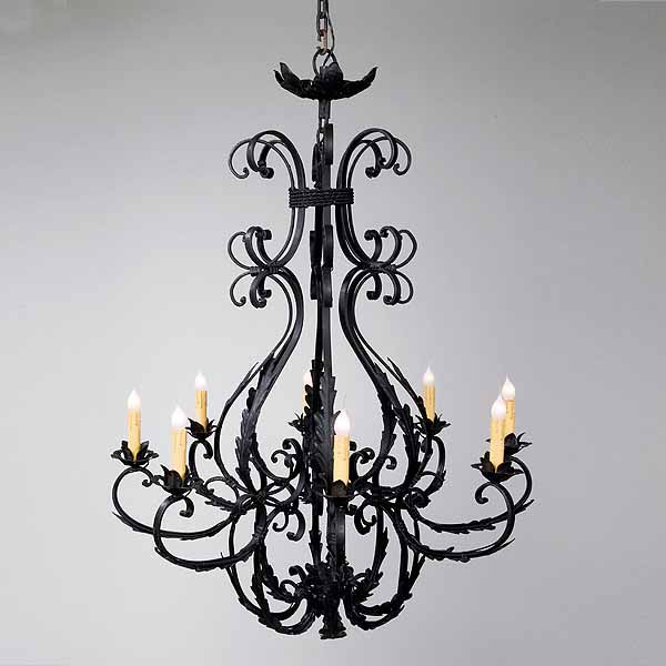 Wrought Iron Chandeliers And Other Lighting Options Inspirations