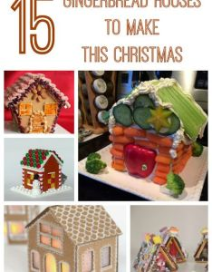 gingerbread houses to make with kids also craft rh pinterest