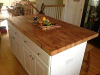 End Grain Butcher Block Island top made by Anchor ...