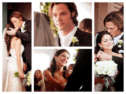 Jared Padalecki And His Beautiful Wife Genevieve (Sam